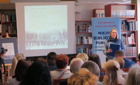 Wieczór promujący książkę Dominiki Leszczyńskiej