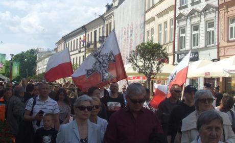 """Zrzeszenie """"WiN"""" na lubelskim Marszu Pileckiego"""