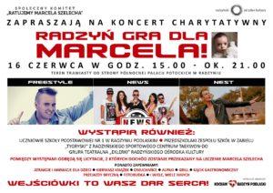 """Koncert charytatywny """"Radzyń gra dla Marcelka"""" @ Park miejski"""