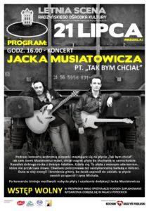 Koncert Jacka Musiatowicza @ Park miejski