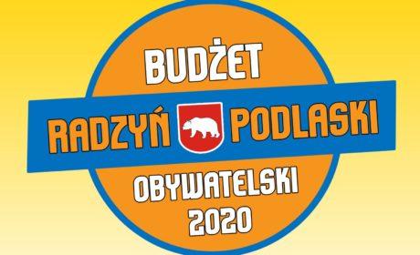 Radzyński Budżet Obywatelski 2020