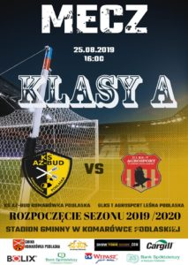 Mecz KS Az-Bud - Leśna Podlaska @ Komarówka Podl., stadion