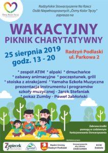 Wakacyjny Piknik Charytatywny @ Parkowa 2