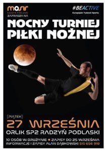 Nocny Turniej Piłki Nożnej @ Orlik przy SP2
