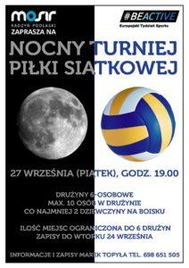 Nocny Turniej Piłki Siatkowej