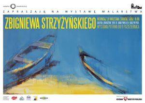 """Wernisaż malarstwa Zbigniewa Strzyżyńskiego @ Galeria """"Oranżeria"""", ROK"""