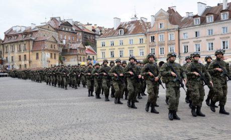 Historyczna przysięga lubelskich Terytorialsów