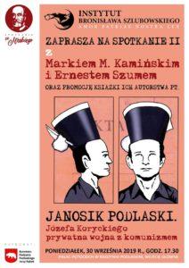 Spotkanie z Janosikiem Podlaskim @ Jana Pawła II 2