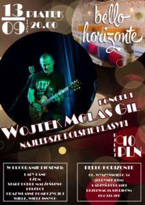 "Koncert Wojciecha ""Molasa"" Gila @ Bello Horizonte"
