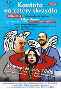 """Spektakl """"Kantata na cztery skrzydła"""" @ Sala kina """"Oranżeria"""", ROK"""