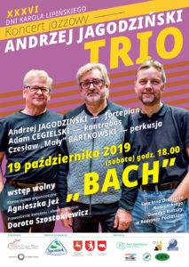 """Bach"" - Andrzej Jagodziński Trio @ Sala kina ""Oranżeria"", ROK"