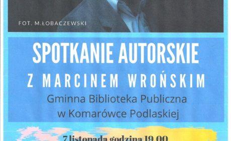 Spotkanie z Marcinem Wrońskim