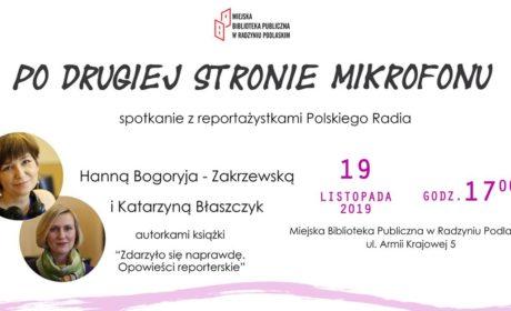 Spotkanie z reportażystkami Polskiego Radia