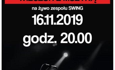 """Wieczór z zespołem """"Swing"""""""
