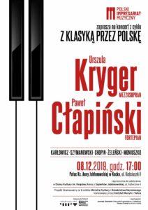 """Koncert """"Z klasyką przez Polskę"""" @ Kock, pałac Ks. Anny Jabłonowskiej"""