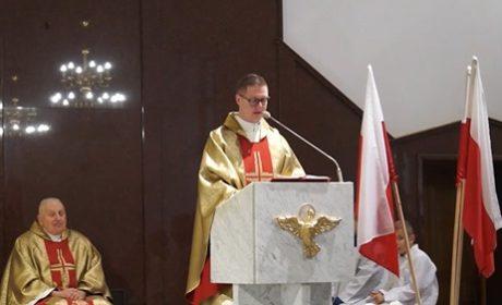 Kazanie ks. Michała Goska