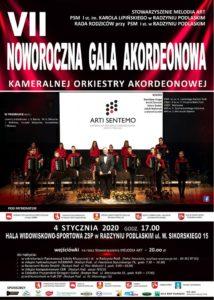 VII Noworoczna Gala Akordeonowa @ Hala ZSP