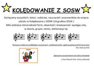 Kolędowanie z SOSW @ SOSW
