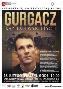 """Film """"Gurgacz. Kapelan Wyklętych"""" @ Sala kina """"Oranżeria"""", ROK"""
