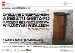 Zwiedzanie katowni Gestapo/UB @ ul. Warszawska 5a