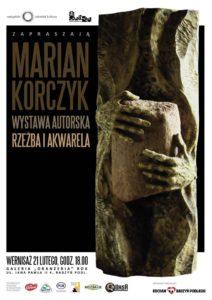 "Marian Korczyk - rzeźba i akwarela @ Galeria ""Oranżeria"""