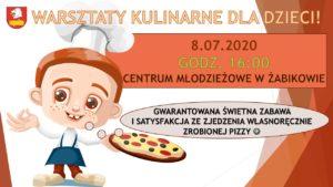 Warsztaty kulinarne dla dzieci @ Żabików, Centrum Młodzieżowe