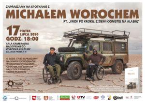 Spotkanie z podróżnikiem Michałem Worochem @ Sala kameralna, ROK