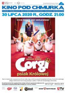 """Film """"Corgi. Psiak królowej"""" (Kino pod chmurką) @ Park miejski"""