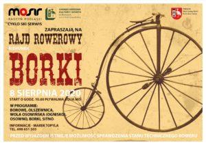 Rajd rowerowy @ Pływalnia Aqua-Miś (start)