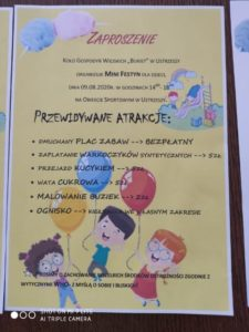 Mini-festyn dla dzieci @ Obiekt sportowy w Ustrzeszy