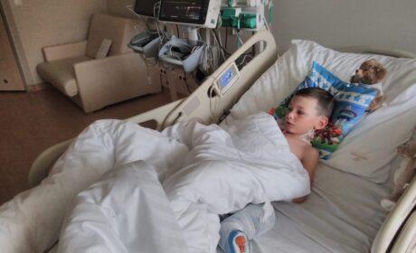 4-letni Szymek z gm. Komarówka już po operacji