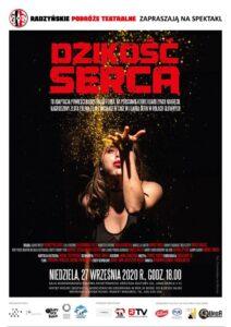 """Spektakl """"Dzikość serca"""" @ Sala kina """"Oranżeria"""", ROK"""