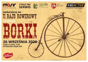 II rajd rowerowy kierunek: Borki @ Pływalnia Aqua-Miś (wyjazd)