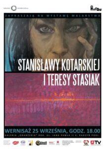 """Wernisaż malarstwa Stanisławy Kotlarskiej i Teresy Stasiak @ Galeria """"Oranżeria"""""""