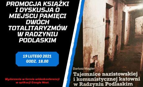 """Dziś promocja online książki """"Tajemnice nazistowskiej i komunistycznej katowni"""" Dariusza Magiera"""