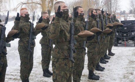 Przysięga Terytorialsów w rocznicę powstania Armii Krajowej