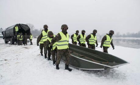 Lubelscy Terytorialsi w gotowości do przeciwdziałania podtopieniom
