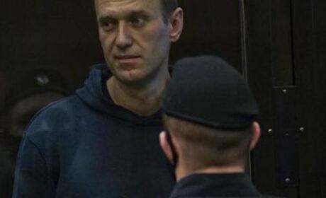 Nawalny w Rosji