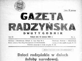 W 1935 r. powstał Ośrodek Zdrowia z Por. Przeciwgruźliczą i Stacją Opieki nad matką i dzieckiem