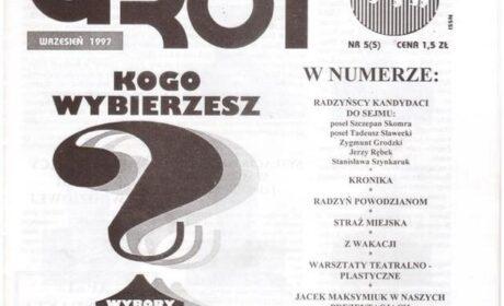 Grot nr 5: wrzesień 1997
