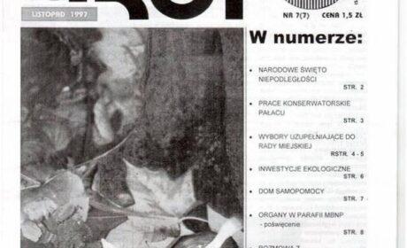 """""""Grot"""" nr 7: : listopad 1997"""