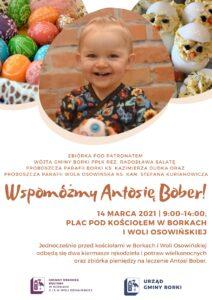 Słodka niedziela z Antosią Bober @ Wola Osowinska, Parafia Narodzenia NMP