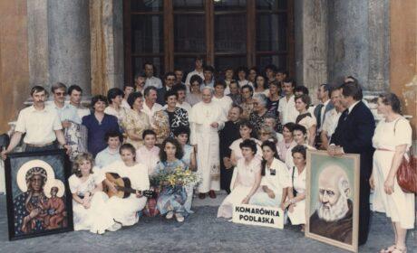 Lipiec 1988 – pielgrzymka grupy z Radzynia i Komarówki Podlaskiej