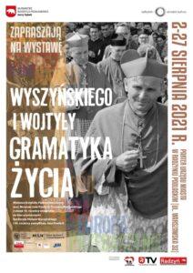 """Wystawa """"Wyszyńskiego i Wojtyły gramatyka życia"""" @ parter Urzędu Miasta"""