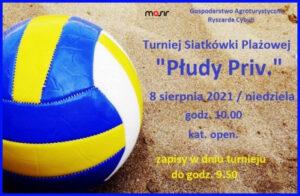 Turniej Siatkówki Plażowej @ Płudy