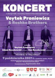 """Trio Voytek Proniewicz & Roshko Brothers @ Sala kina """"Oranżeria"""", ROK"""