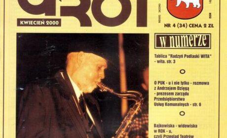 """""""GROT"""" nr 34 – kwiecień 2000"""