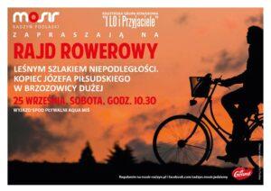 Rajd rowerowy @ Pływalnia Aqua-Miś (wyjazd)