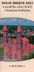 Misje Święte w parafii Św. Anny @ Kościół Bł. Męczenników Podlaskich