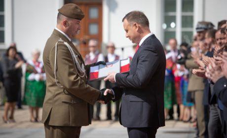 Prezydent RP wyróżnił 2 Lubelską Brygadę Obrony Terytorialnej